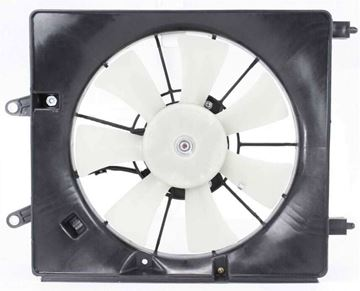 Acura Passenger Side Cooling Fan Assembly-Single fan, A/C Condenser Fan | Replacement A160910