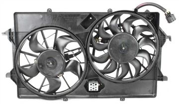 Picture of Replacement Cooling Fan Assembly Replacement-Dual fan, Radiator Fan | Replacement ARBF160904