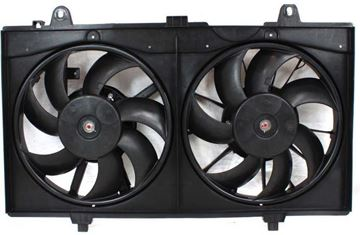 Picture of Replacement Cooling Fan Assembly Replacement-Dual fan, Radiator Fan | Replacement ARBN160902
