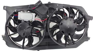 Picture of Replacement Cooling Fan Assembly Replacement-Dual fan, Radiator and A/C Condenser Fan | Replacement F160940
