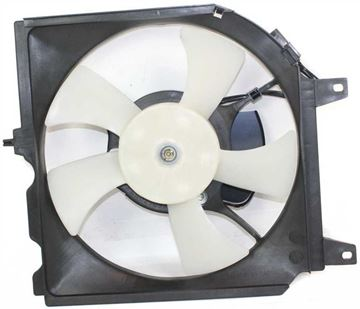Nissan Cooling Fan Assembly, Sentra 95-99 A/C Fan Shroud Assembly | Replacement N190909
