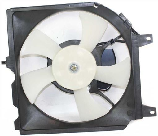 Nissan Cooling Fan Assembly, Sentra 95-99 A/C Fan Shroud Assembly   Replacement N190909