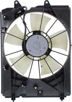 Acura Driver Side Cooling Fan Assembly-Single fan, Radiator Fan | Replacement REPA160904