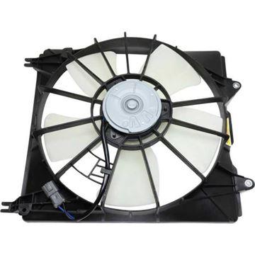 Acura Driver Side Cooling Fan Assembly-Single fan, Radiator Fan | Replacement REPA160913