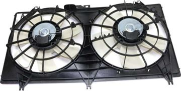Picture of Replacement Center Cooling Fan Assembly Replacement-Dual fan, Radiator Fan | Replacement REPC160937