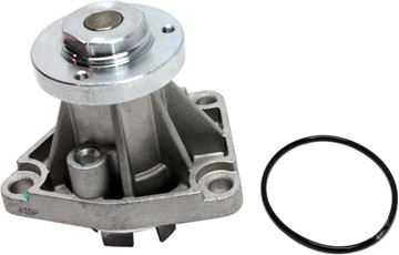 Picture of Replacement Water Pump, Catera 97-01 / L-Series 01-05  Water Pump, New, W/ 1 Rubber Gasket | Replacement REPC313510