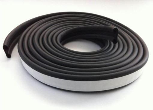 Double Bulb Premium Truck Cap Tape and Seal, 23 ft Roll