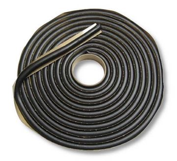 "3/8"" Round Butyl Tape for Autoglass Install,  15' roll 