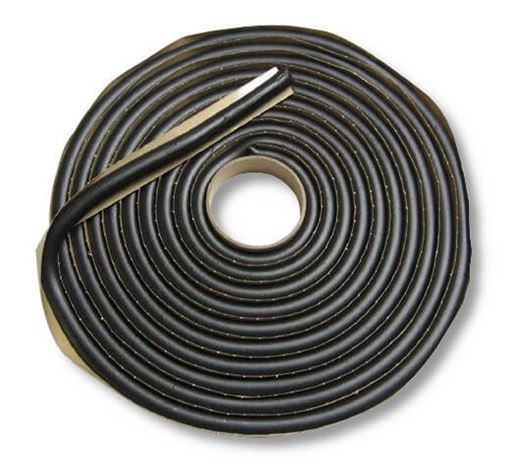 """Picture of 3/8"""" Round Butyl Tape for Autoglass Install,  15' roll 