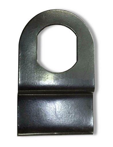Flat Metal Lock Retainer Plate | Bauer THW1086