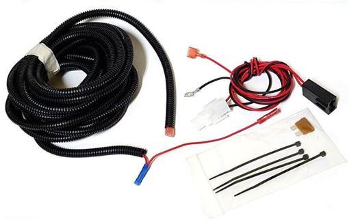 2 Prong Third Brake Light Wiring Harness - C Kit for Truck Cap Topper SiraWeb.com