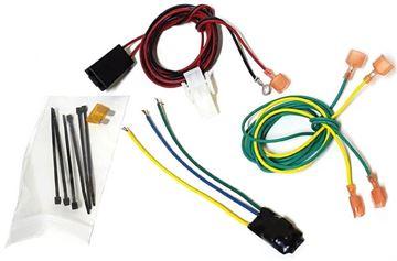 2 Prong Third Brake Light Wiring Harness - D Kit, Truck Cap Topper | ATC C90-804