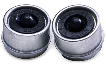 "Super Lube Bearing Dust Caps, 2-Pack, for 2"" Hubs, Dexter 81168"