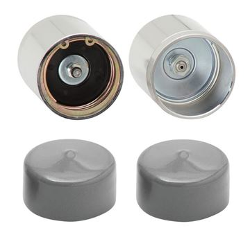 "Picture of Fulton Trailer Wheel Bearing Protectors with Cover, Pair, 2"", BPC1980604"