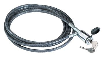 """Tow Ready Multi-Purpose Cable Lock, 10' x 5/16"""", Cequent 63233"""