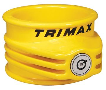 Trailer Ultra Tough 5th Wheel Lock, Yellow, Trimax TFW55