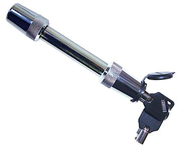 "Trailer Stainless Steel 5/8"" Key Receiver Lock, 2.75"" Span, Trimax SXT3"
