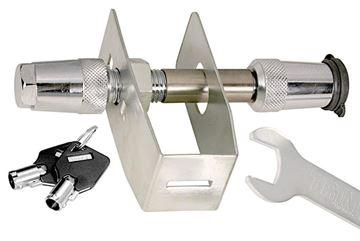 Trailer Stainless Steel Anti-Rattle Key Receiver Lock, Trimax TAR300