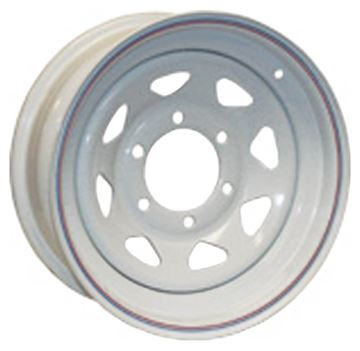 "12"" Wheel 4 Hole Galvanized Spoked"