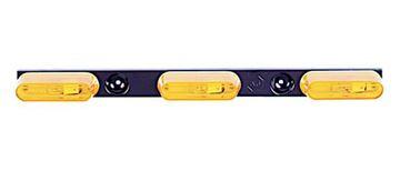 Amber Identification Light Bar, Peterson 136-3A