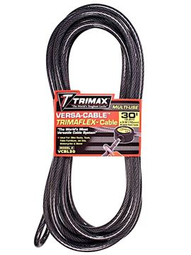 Multi-Use Replacement 30' x 10mm Versa Cable, Trimax VMAX30CBL