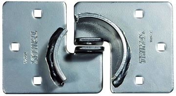 "Solid Steel ""Hockey Puck"" Internal Shackle Trailer Hasp, Trimax THSP2C"