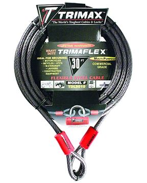 Trimaflex Dual Looped Multi-Use Cable 30' x 10mm, Trimax TDL3010