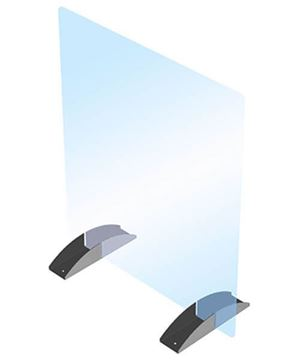 "Portable Acrylic Barrier Kit, 24"" x 32"", CRL PS2432NN"