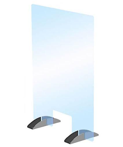 """Portable Acrylic Barrier Kit, 30"""" x 40"""", CRL PS3040WN"""