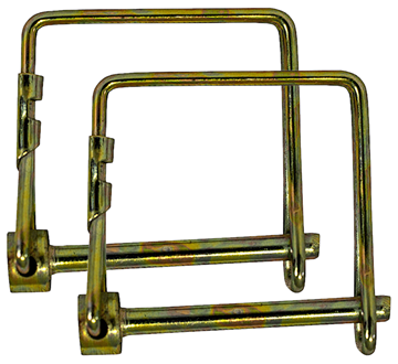 """Trailer Wire Lock Pin 2 Pack 1/4"""" x 3-1/4"""" Square, Buyers 66067"""