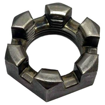 "Trailer Axle 1"" Slotted Hex Nut, CE Smith 11065"