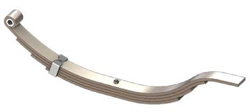 "Axle Slipper Spring, 1830 lbs, 4 Leaf, 30"" Length, UCF UNA-040"