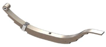 "Axle Slipper Spring, 2290 lbs, 5 Leaf, 30"" Length, UCF UNA-040N"